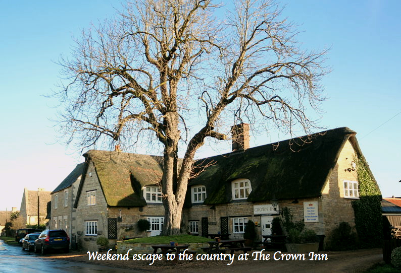 Country weekend at The Crown Inn