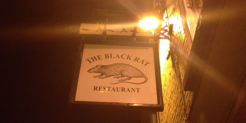 Fantastic foodie night in Winchester – The Black Rat and The Black Bottle