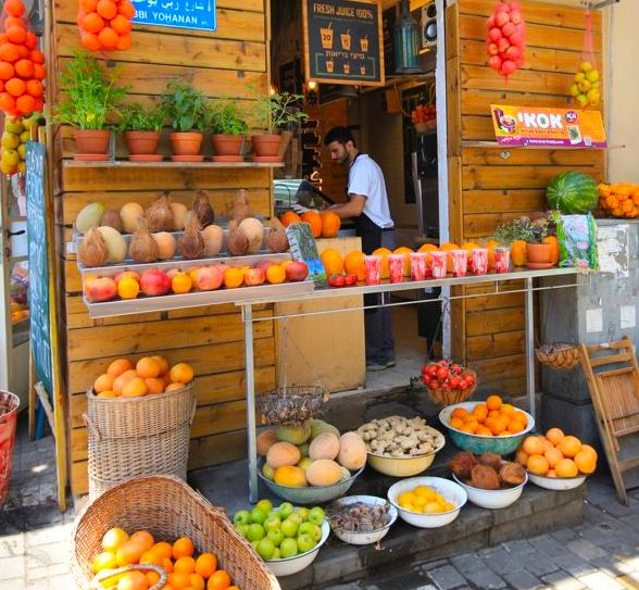 Eating our way through Israel - Travel with Penelope & Parker - Freshest Fruit