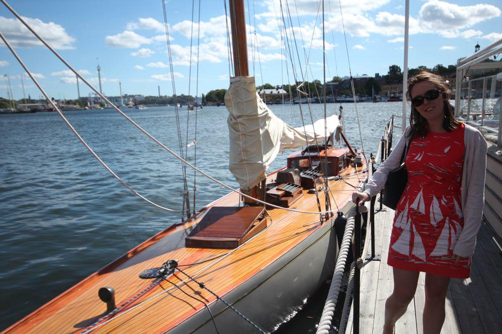 August fun and frolics - sailing, Languedoc, Stockholm and some hard work too - Travel with Penelope & Parker