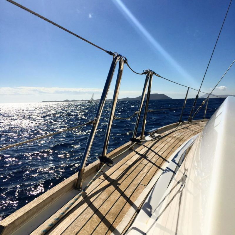 Yachting adventures in the Canaries