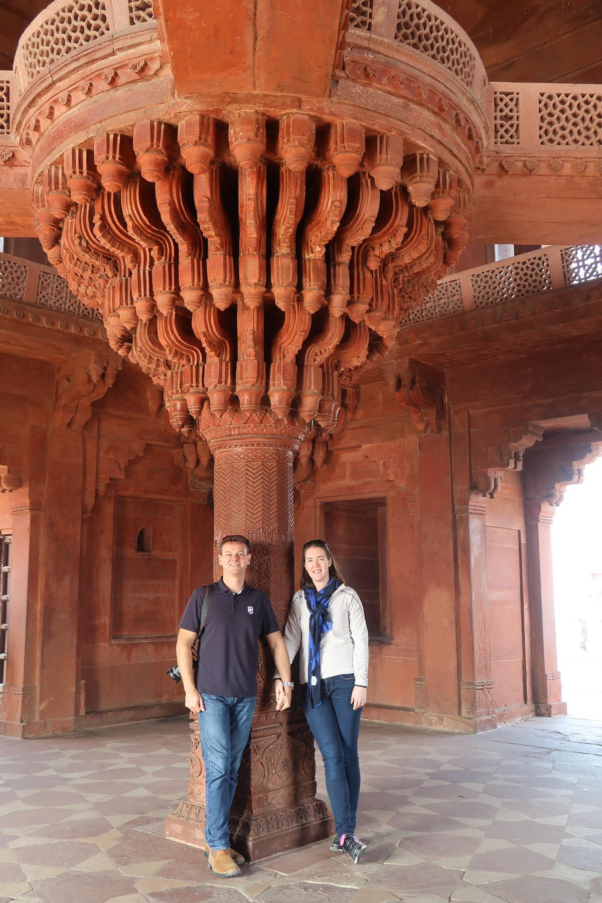 One day in Agra - Travel with Penelope and Parker