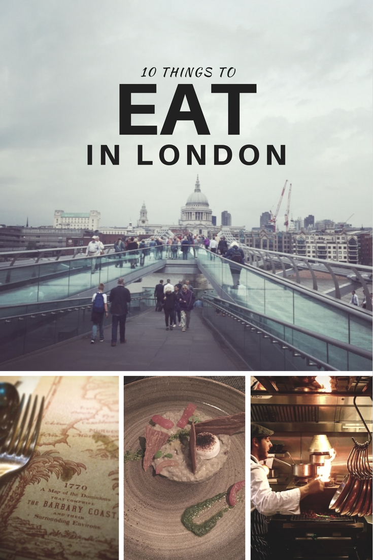 10 things to: Eat in London - Travel with Penelope & Parker